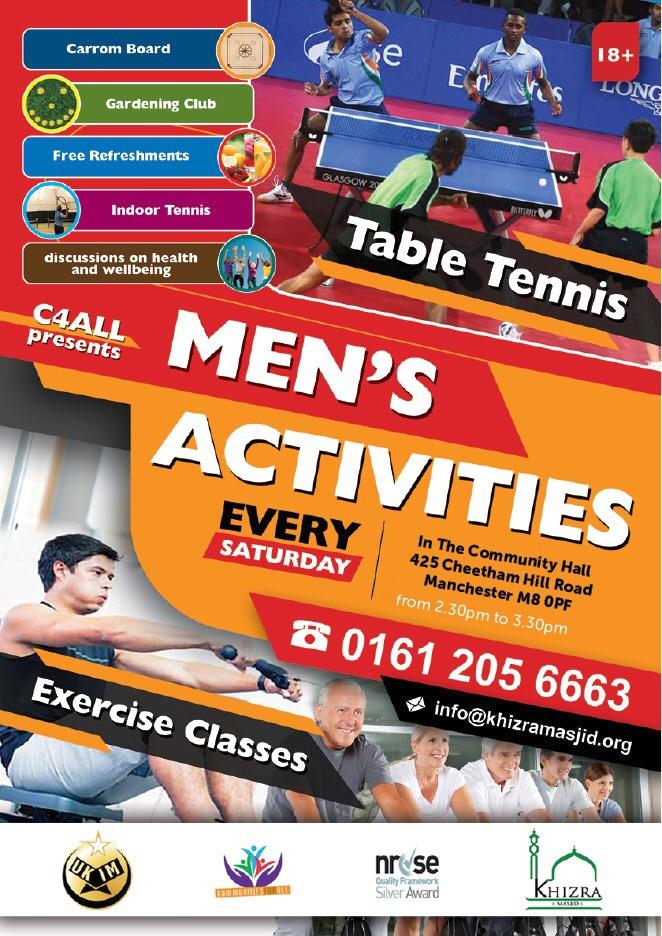mens activities